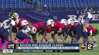 Ravens Host 'Ravens RISE Stadium Classic' - Video