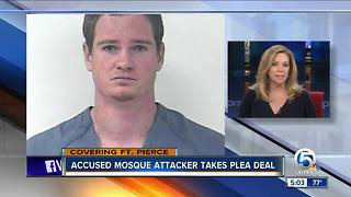 Accused mosque attacker takes plea deal - Video