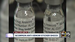 $32K for scorpion antivenin in AZ hospitals? - Video
