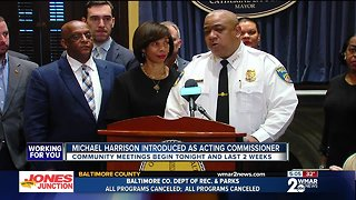 Building relationships, navigating consent decree priorities for Acting BPD Commissioner Harrison - Video