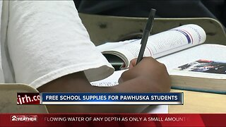 Free school supplies for Pawhuska students