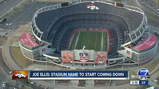 'Sports Authority' name coming off Broncos stadium - Video