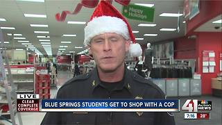 Blue Springs Shop with a Cop underway - Video