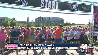 More than pink walk raises money for cancer research