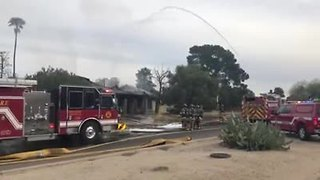 RAW VIDEO: House fire on Northwest side - Video