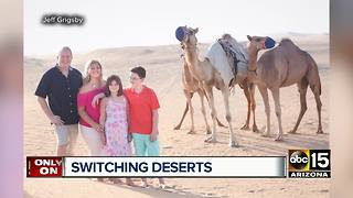 Arizona State alumni move to Dubai - Video