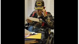 Very Old Veteran Receives Special Birthday Letter From The White House