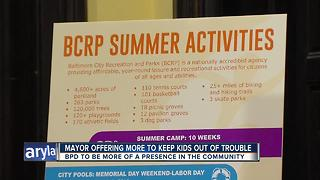 Summer crime prevention program keeps city youth engaged - Video