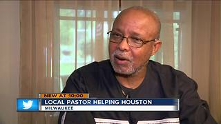 Local pastor leading effort to help Houston by collecting gift card donations - Video