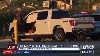 Police investigate fatal crash in North Las Vegas