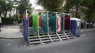 Video shows grim sight of toilets at Notting Hill Carnival - Video