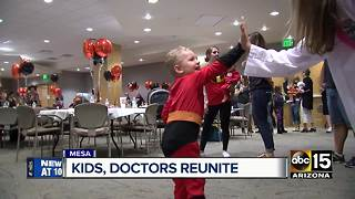 Reunion brings together families, NICU staff - Video