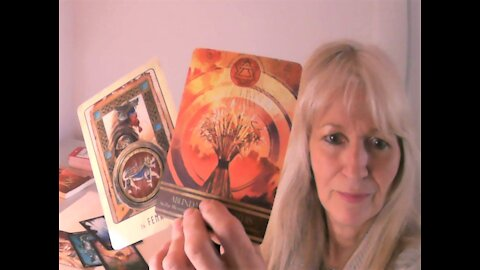 Aries April 2021 Tarot - Conquering Your Dark Side Into Creation