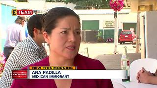 Mexican-American U.S. citizens fear profiling, deportation of friends in Painesville - Video
