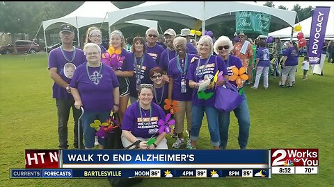 Preview of Tulsa's Walk to End Alzheimer's
