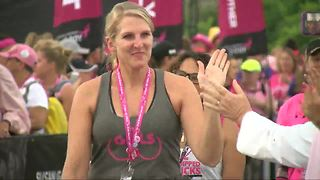 Komen three day walk for breast cancer kicks off in Detroit - Video