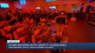 Gyms reopen with safety guidelines