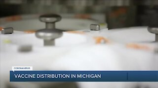 COVID-19 vaccine distribution in Michigan