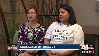 Two women come together through tragedies - Video