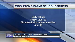 Canyon County voting information