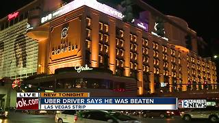 Uber driver recovering after Las Vegas attack - Video