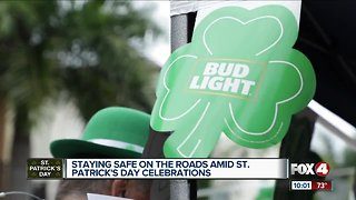 Police warn about drunk drivers on St. Patrick's Day