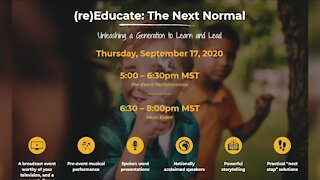 (Re)Educate: The Next Normal // Live Event! 9.17 @ 5-8pm // BigIdeaProject.org