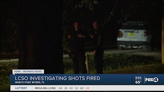 Lee County Sherriff's Office respond to shots fired call