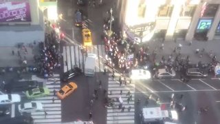 At Least Three Pedestrians Hit by Van Outside NYC's Penn Station - Video