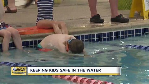 Keeping kids safe in the water