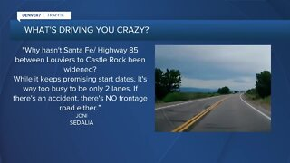 What's Driving You Crazy? When will Santa Fe Drive get widened?