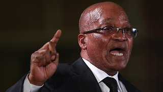 South Africa's President Jacob Zuma Just Resigned - Video