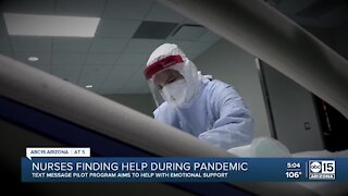 Nurses finding help during the COVID-19 pandemic