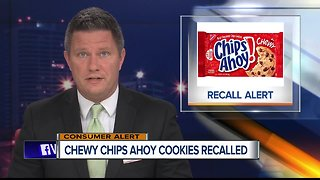 Chewy Chips Ahoy 13-ounce cookies recalled