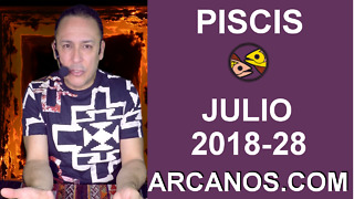 HOROSCOPO PISCIS-Semana 2018-28-Del 8 al 14 de julio de 2018-ARCANOS.COM - Video