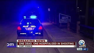 2 shot, 1 dead in Fort Pierce shooting - Video