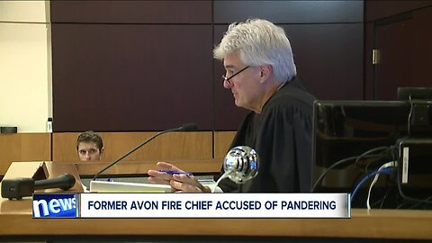 Former Avon Fire chief accused of pandering sexual oriented material involving a minor pleads not guilty