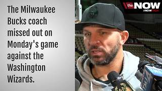 Bucks coach Jason Kidd misses game after daughter's birth - Video