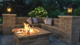 Cambridge Pavers - Fall Outdoor Living Spaces