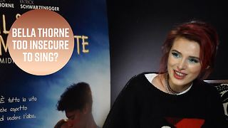 Bella Thorne thought she was a terrible singer - Video