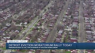 Detroit eviction moratorium rally today