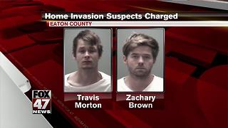 Eaton County home invasion suspects arraigned - Video