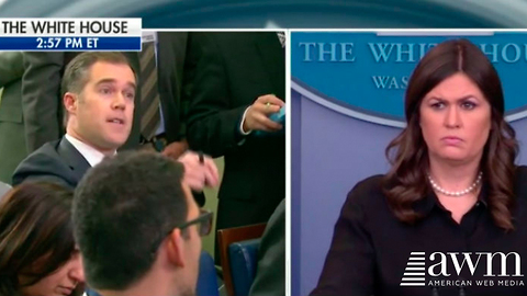 Sarah Sanders Fires Back, Destroys Reporter After Making Outright Lie