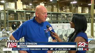 Stinson's celebrates 70th anniversary by giving grants to various non-profits in the community - Video