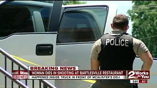 Woman dies in Bartlesville shooting - Video