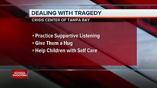 Local schools and students react to the south Florida school shooting - Video