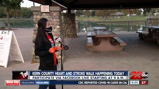 Kern County Heart and Stroke Walk happening Saturday virtually