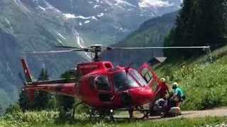 Hundreds Airlifted From Switzerland's Schilthorn Summit Following Cable Car Breakdown - Video
