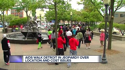 Organizers fight to hold Detroit AIDS Walk in the Motor City