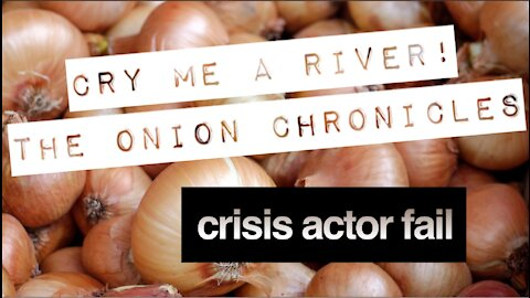 WHO BRINGS AN ONION TO A PROTEST?